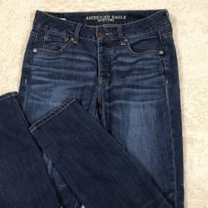 AE/American Eagle Tom Girl Button Fly Jean